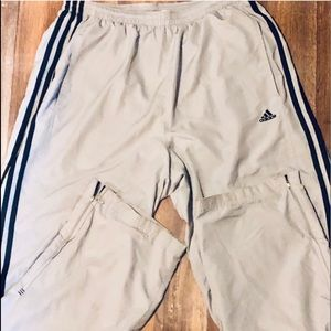 Adidas Men's Athletic Gray Track Pants
